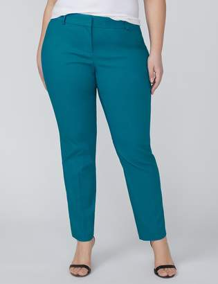 Lane Bryant Allie Sexy Stretch Ankle Pant - Textured