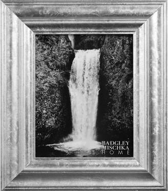 Badgley Mischka HOME Mila Silver Leaf 13X15 Gallery Frame