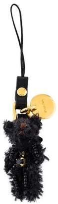 Prada Jewel-Embellished Keychain