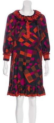 Marc by Marc Jacobs Silk Printed Dress