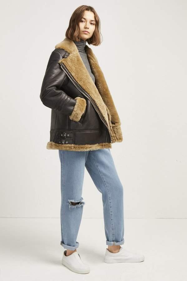 Night Toscana Shearling Jacket