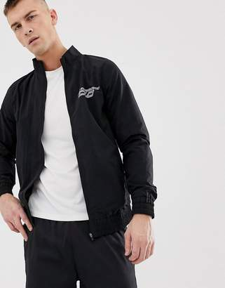 Asos 4505 4505 woven track jacket with reflective print