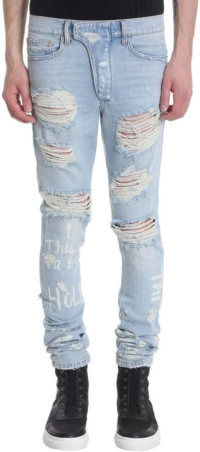 ih nom uh nit Blue Denim Jeans