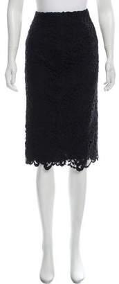 Ermanno Scervino Lace Knee-Length Skirt