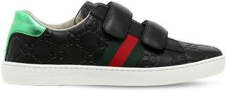 Gucci Gg Supreme Guccissima Leather Sneakers
