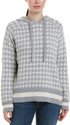 Central Park West Houndstooth Hoodie