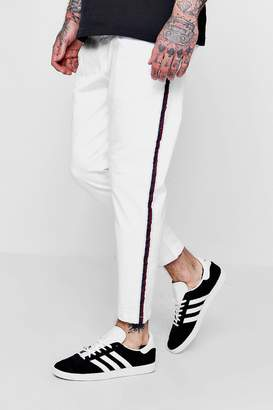boohoo Jogger Style Chino With Taping