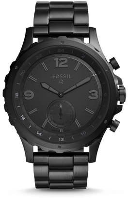 Fossil Hybrid Smartwatch - Nate Black Stainless Steel
