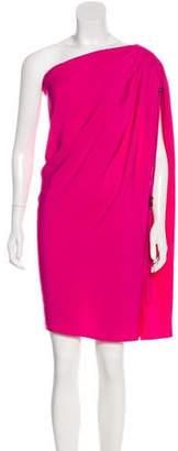 Lanvin One-Shoulder Mini Dress