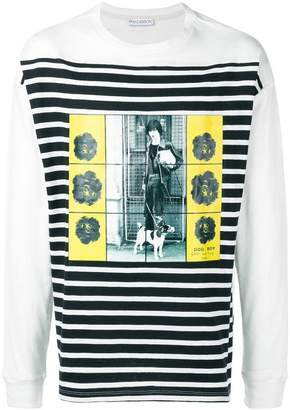 J.W.Anderson Gilbert & George long-sleeve T-shirt