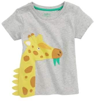 Boden Mini Applique Animal T-Shirt