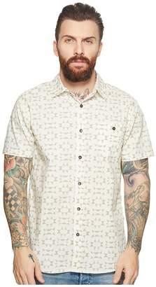 VISSLA Thresher Short Sleeve Printed Woven Top Men's Clothing