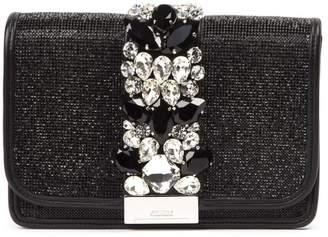 Gedebe Cliky Crystal Embellished Clutch Bag