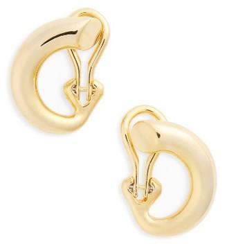 Women's Charlotte Chesnais Monie Small Vermeil Hoop Earrings $535 thestylecure.com