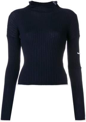 N.Peal ribbed jumper