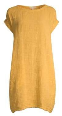Eileen Fisher Organic Cotton Short Dress