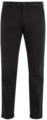 Barena VENEZIA Mid-rise cropped cotton-blend chino trousers