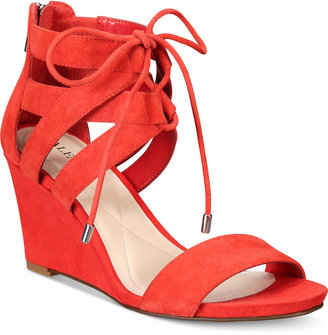 Alfani Women's Karlii Wedge Sandals, Only at Macy's $79.50 thestylecure.com