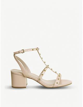 Office Midnight studded heeled sandals
