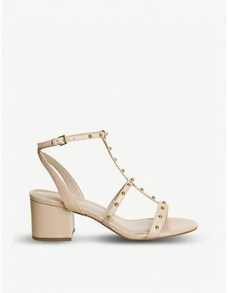 Office Midnight studded heeled sandals