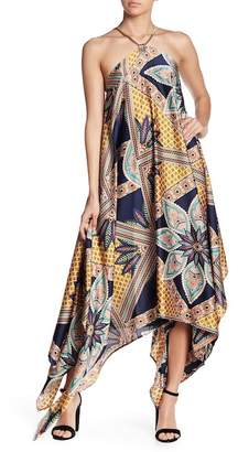 Gracia Printed Handkerchief Dress