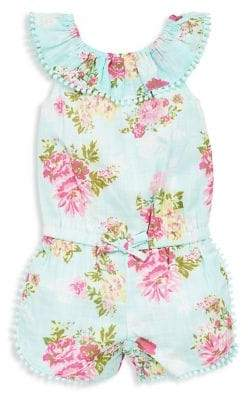 Little Me Baby Girl's Floral Romper