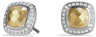 David Yurman Albion Earring with 18K Gold Dome and Diamonds