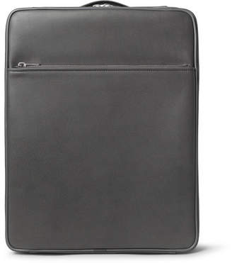 Valextra Pebble-Grain Leather Carry-On Case