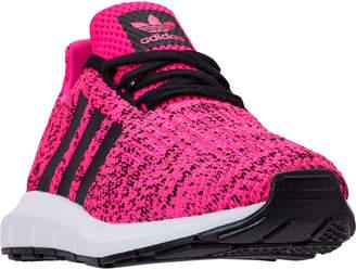 28829c079 at Finish Line · adidas Girls  Little Kids  Swift Run Casual Shoes