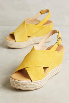 Matt Bernson Capri Wedge Sandals $188 thestylecure.com