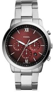 Fossil Neutra Chronograph Stainless Steel Bracelet Watch