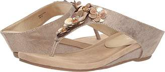 Kenneth Cole Reaction Women's Great Hop Flower Low Wedge Sandal