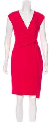 Max Mara Sleeveless Knee-Length Dress