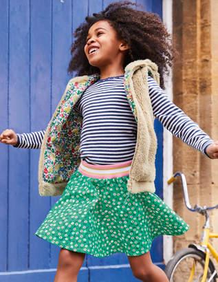 Boden Colourful Skater Skirt