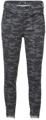 Nicole Miller camouflage print jeans