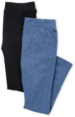 Freestyle Revolution (Girls 4-6x) Two-Pack Solid Leggings