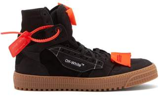 Off-White Off White Low 3.0 Suede Trainers - Mens - Black