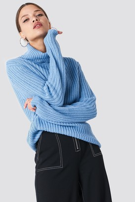 Rut & Circle Rut&Circle Tinelle rollneck knit Cobalt