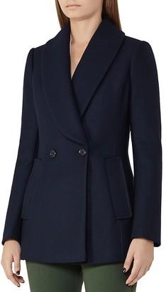 REISS Malika Wool-Blend Coat $520 thestylecure.com