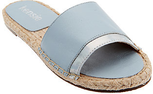 Kensie Espadrille Slide Sandals - Olympia $48.50 thestylecure.com
