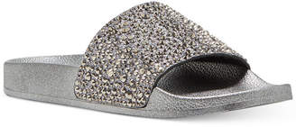 INC International Concepts I.n.c. Women's Peymin Pool Slides, Created for Macy's Women's Shoes