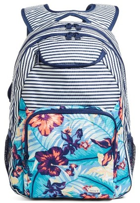 Roxy Shadow Swell Backpack - Blue $44 thestylecure.com