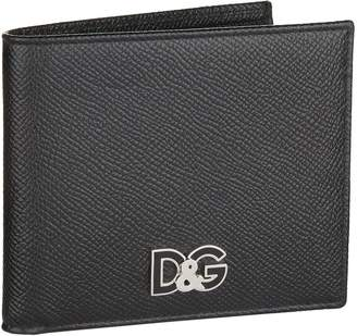 Dolce & Gabbana Logo Embossed Bifold Wallet