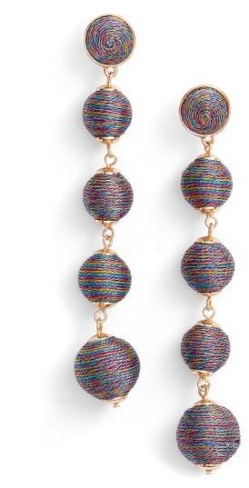 Women's Baublebar Metallic Crispin Ball Statement Earrings