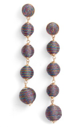 Women's Baublebar Metallic Crispin Ball Statement Earrings $48 thestylecure.com