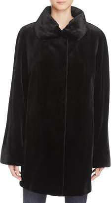 Maximilian Furs Reversible Sheared Mink Coat $7,995 thestylecure.com