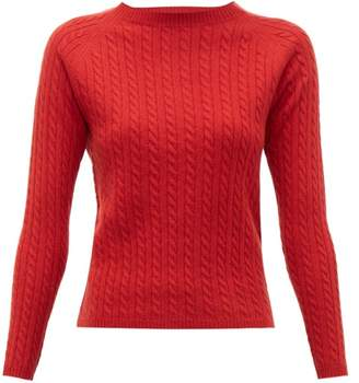 Max Mara Fleur Sweater - Womens - Red