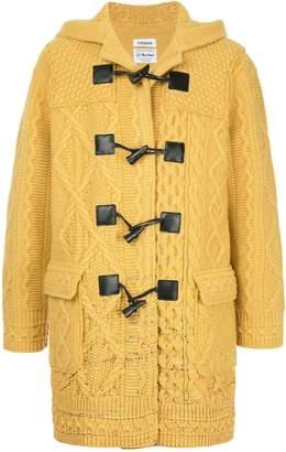 Coohem knitted duffle coat