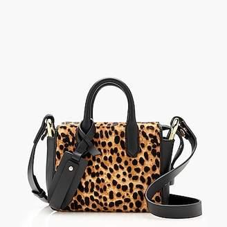 J.Crew Harper mini satchel in Italian leather and calf hair