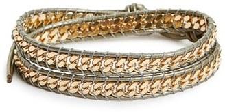Women's Panacea Curb Chain Wrap Bracelet $30 thestylecure.com